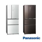 【Panasonic 國際牌】500公升 四門 電冰箱 NR-D501XGS 贈SP-2015雙面砧版+陶瓷刀+商品卡1000元