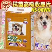 【zoo寵物商城】IRIS《抗菌高吸收尿片NS-90WN (90片/包)吸力強