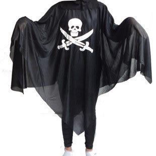 骷髏鬼骨架鬼衣服 海盜鬼衣