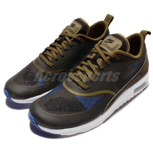 【四折特賣】Nike 休閒慢跑鞋 Wmns Air Max Thea JCRD 綠 藍 黑 白底 氣墊 運動鞋 女鞋【PUMP306】 844955-300