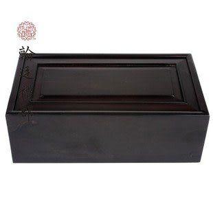 黑檀素面首飾盒