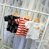 (萬聖節)男童短袖童裝男童短袖T恤2018新品兒童夏裝打底衫一3歲女寶寶半袖體恤上衣