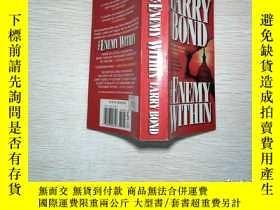 二手書博民逛書店LARRY罕見BOND THE ENEMY WITHINY206