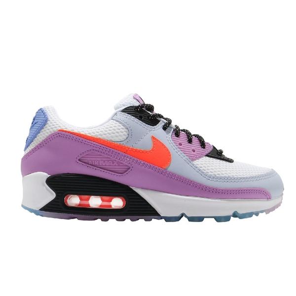 Nike 休閒鞋 Wmns Air Max 90 Carnival 白 紫 女鞋 氣墊 運動鞋【ACS】 CW6029-100