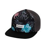 HURLEY|配件 M PRINTED SQUARE TRUCKER BLACK 棒球帽