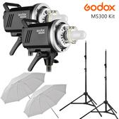 EGE 一番購】GODOX【MS300 X2 輕巧套裝組】適合產品拍攝 靜物拍攝 內建X1無線系統【公司貨】