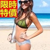 泳衣(兩件式)-比基尼-音樂祭泡湯玩水必備泳裝別緻質感11色54g154[時尚巴黎]