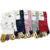 【KP】襪子 長襪 繽紛 五指襪 止滑 可愛 造型 動物世界 點點 親膚 棉22~25CM 五款選 DTT1000074