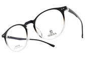 SEROVA 光學眼鏡 SL173 C16 (漸層黑) 簡約貓眼大框款 # 金橘眼鏡