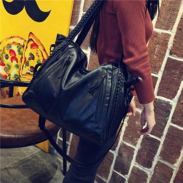 托特包女包大包大容量軟皮新款春夏簡約時尚百搭手提側背側背包 喵小姐