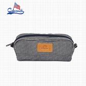 【COLORSMITH】DE.條紋鉛筆袋.DE1046-BW