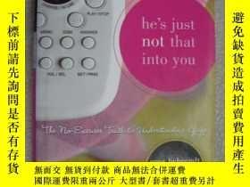 二手書博民逛書店He s罕見just not that into you (Th