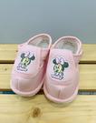 【震撼精品百貨】Micky Mouse_米奇/米妮 ~台灣製正版兒童迪士尼寶寶學布鞋-粉米妮(12~14號)#18847