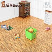 爬行墊鋪地宿舍家用地毯臥室拼圖拼接木紋泡沫地墊【極簡生活館】