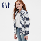 Gap 女童 活力風格拉鍊外套 541679-藍色條紋