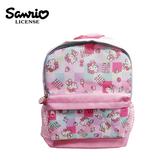【正版授權】凱蒂貓 方格系列 兒童背包 背包 後背包 書包 Hello Kitty 三麗鷗 Sanrio - 441640