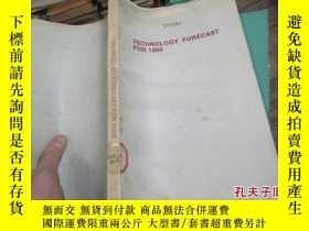 二手書博民逛書店technology罕見forecast for 1980 22
