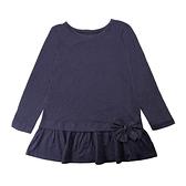【北投之家】女童長袖上衣 蝴蝶結裙擺衣服 黑色 | Oshkosh童裝 (兒童/小孩/小朋友/幼童/小童/寶寶)