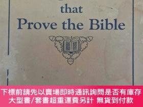 二手書博民逛書店英文原版書《Fulfilled罕見Prophecies that Prove the Bible》(預言之應驗證實