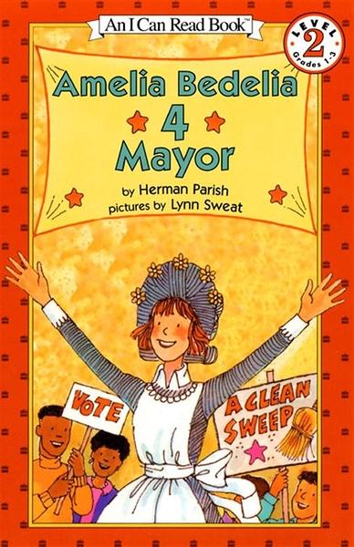 (二手書)An I Can Read Book Level 2: Amelia Bedelia 4 Mayor