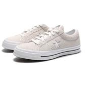 CONVERSE ONE STAR OX 米白 帆布鞋 麂皮 低筒 經典款 男女 (布魯克林) 161577C