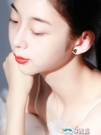 耳環 三角形鋯石耳釘女純銀2019新款潮男簡約氣質冷淡風情侶小眾耳環 8號店