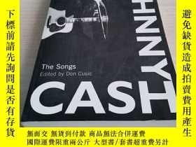 二手書博民逛書店Johnny罕見Cash: The Songs 約翰尼·卡什 歌