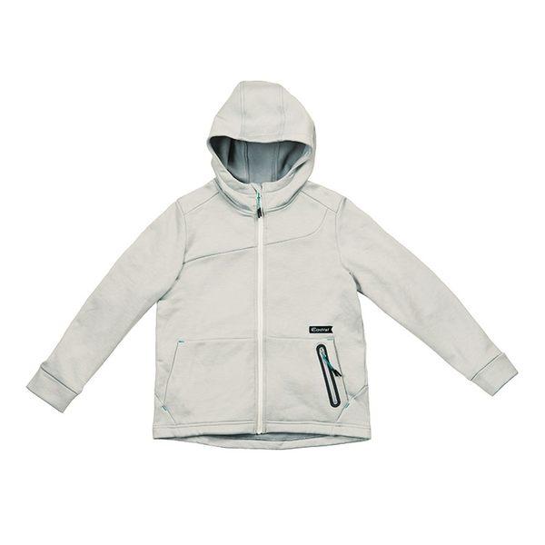 ADISI 童抗靜電超彈蓄熱連帽保暖外套AJ1821022 (110-150) / 城市綠洲 (刷毛、快乾、保暖)