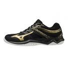 MIZUNO THUNDER BLADE 2 基本款 排球鞋 排羽球鞋 室內運動鞋 黑金 V1GA197052 21SS