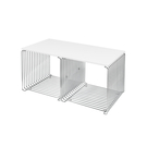 Montana 34.8x70cm 潘頓系列 線條 方形壁櫃 專用配件 - 檯面桌板(雙格櫃 櫃深 38 cm 專用)- 層壓板桌面