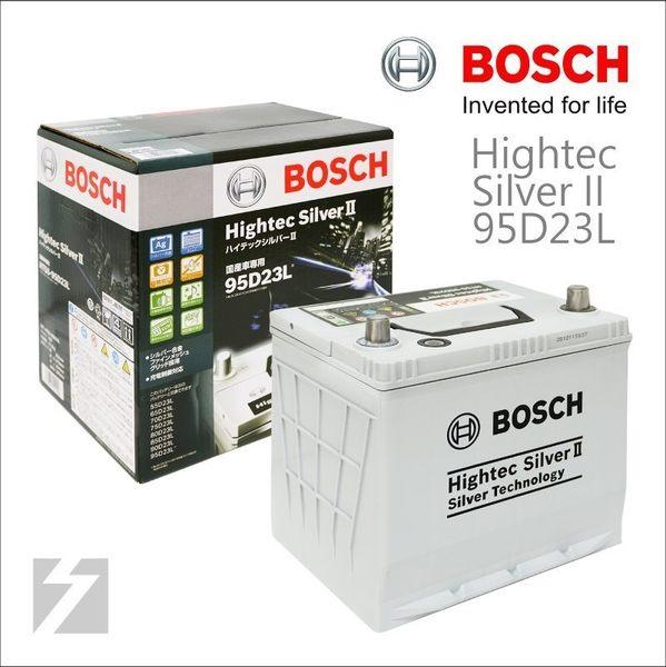 ✚久大電池❚日本博世 BOSCH 二代銀合金 汽車電瓶 95D23L 世界最強水準 55D23L 75D23L 最高性能