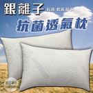 【嘉新名床】銀離子抗菌透氣枕 / 飯店枕...