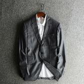 秋季西服男上衣青年男正裝單西外套韓版修身商務休閑西裝男2848