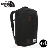 【The North Face 37L 15吋電腦背包《黑》】3KZP/行李背包/工作包/學生書包/翻蓋背包