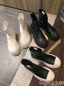 馬丁靴馬丁靴女潮ins2020新款韓版百搭厚底瘦瘦鞋網紅秋季鞋子機車短靴 suger