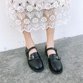 娃娃鞋甜美季復古圓頭女學生娃娃休閒單鞋小皮鞋 黛尼時尚精品