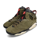Nike Air Jordan 6 Retro SP Travis Scott 綠 紅 橄欖綠 男鞋 籃球鞋 TS 聯名款 【PUMP306】 CN1084-200