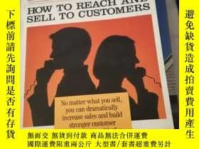 二手書博民逛書店Selling罕見by Phone: How to Reach and Sell to CustomersY2