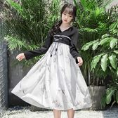 改良版漢服古風女裝夏季學生古裝襦裙清新 LQ4752『夢幻家居』