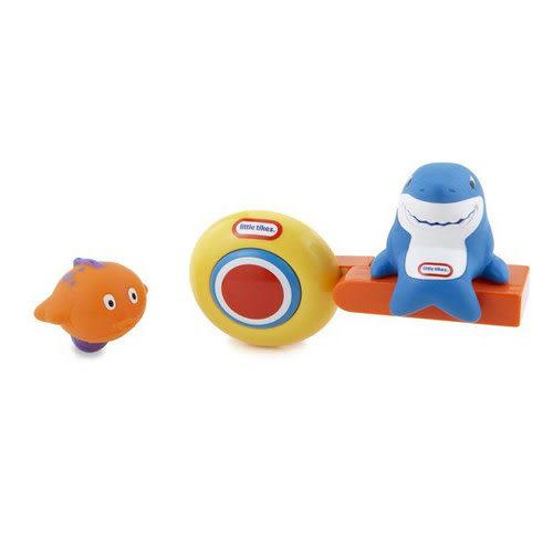 【奇買親子購物網】Little Tikes 小泰克-鯊魚下水洗澡玩具