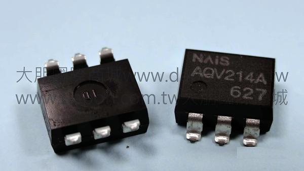 *大朋電子商城*NAIS AQV214A 繼電器Relay(5入)