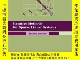 二手書博民逛書店Iterative罕見Methods For Sparse ar Systems, Second Edition奇