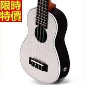 烏克麗麗ukulele-閃鑽21吋雲杉木合板四弦琴樂器3色69x35[時尚巴黎]