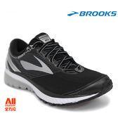 【BROOKS】男款避震型慢跑鞋 Ghost 10 -銀月黑 (571D045) 全方位跑步概念館