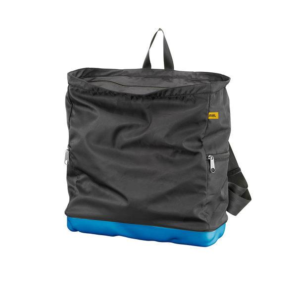 Crash Baggage Bump Bags, 15 吋 前衛霧面 龐克系列 防潑水 後背包 / 筆電包(黑色袋身 - 輕漾藍硬殼)