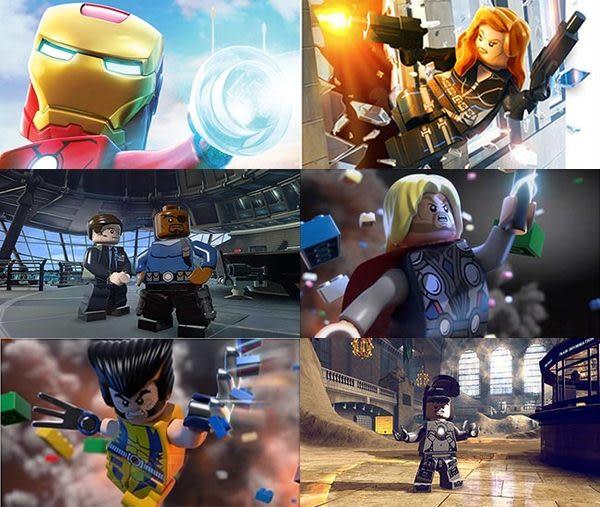 PS3 Lego Marvel 樂高:漫威驚奇超級英雄(含數十種人物服裝道具密碼) -英文紅盒美版-