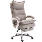 書房電腦椅布藝老板椅可躺辦公椅子轉椅舒適家用電競午休座椅 ATF夢幻小鎮