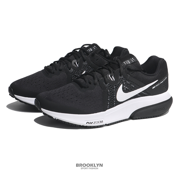 NIKE 慢跑鞋 ZOOM PREVAIL 黑白 REACT底 男 (布魯克林) DA1102-001