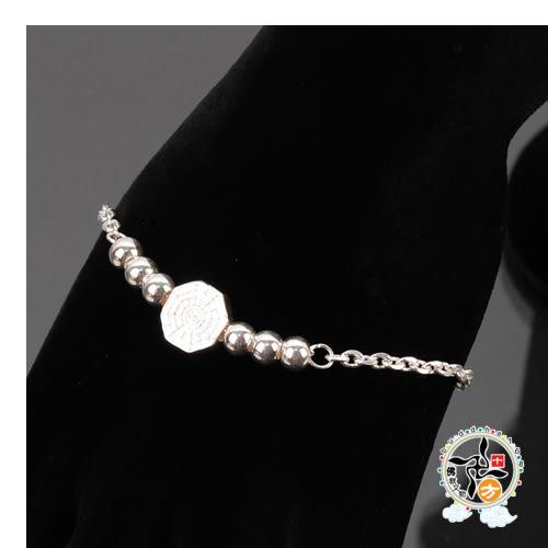 八卦銀珠925銀 手鍊【 十方佛教文物】
