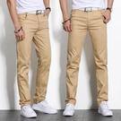 西裝褲中年休閒褲男士夏款春秋季中老年人寬鬆爸爸西裝厚款褲子40-50歲